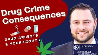 What are the consequences of a drug crime on your record?