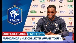 """Équipe de France, """"Conf' Express"""" avec Samuel Umtiti, Nabil Fekir et Steve Mandanda I FFF 2018"""