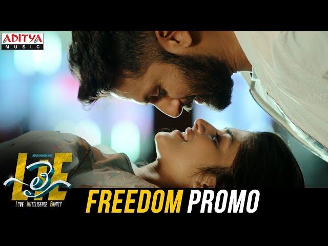Freedom Video Song Promo | Lie Movie Songs | Nithiin | Mani Sharma