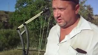 Катушка для ловли рыбы из лука