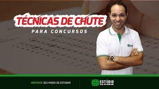 """Técnicas de """"Chute"""" para concursos   Prof. João Leles"""