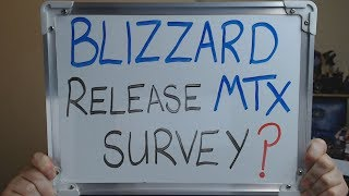BLIZZARD Release MOBILE & MICROTRANSACTION Survey to South America!!