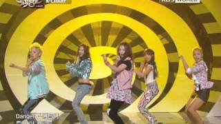 [Music Bank K-Chart] F(x) - Pinocchio (Danger) (2011.04.22)