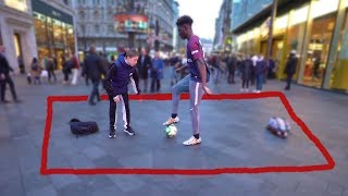 If I Get NUTMEGGED I Lose $1000 In This Soccer Challenge