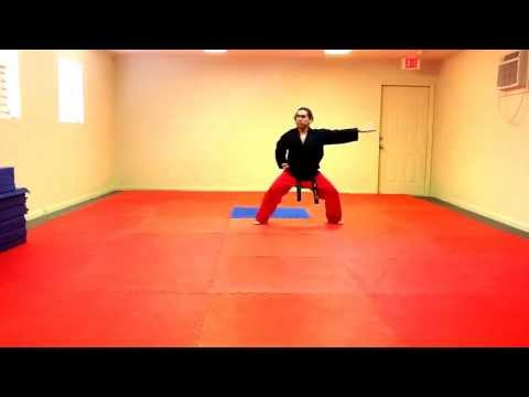 Do-San Tae Kwon Do Form - Slow