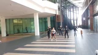 "Zumba Fitness dance for ""Move la 988"" - radio station FM 98.8"