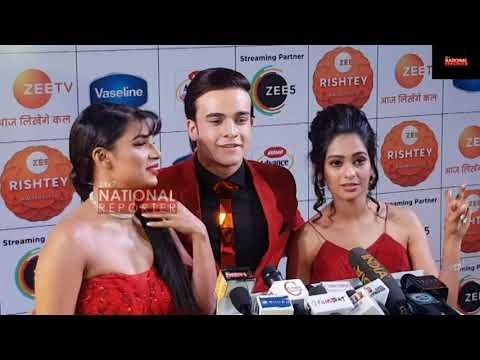 Kumkum Bhagya Serial Actor Krishna Kaul & Naina Singh Full Interview At Zee Rishtey Award  2019