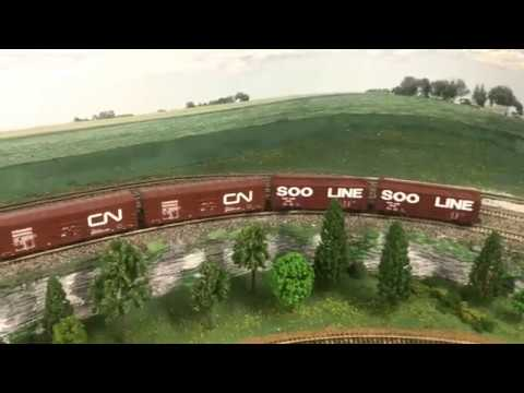 DM&IR Model Railroad Part 6 - Rural Minnesota