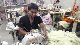 T-shirt manufacturers in Tirupur | T-shirt wholesalers in Tirupur | Factory visit | टी-शर्ट कारखाना