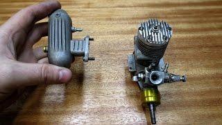 Мощность с глушителем и без глушителя - в двухтактном микро ДВС