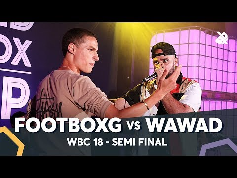 FOOTBOXG vs WAWAD | WBC Solo Battle 2018 | Semi Final