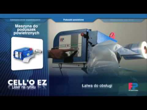 Cello Ez - maszyna wytwarzająca poduszki wypełnione powietrzem - zdjęcie