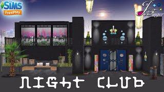 Sims FreePlay 🎇🍷  NIGHT CLUB  🎤🎵 By Joy.