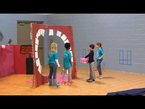 Balli da bambini di video di una lentiggine