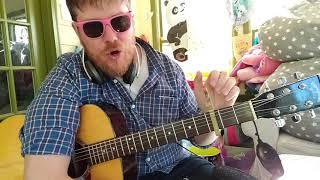 Green Light Go - Becky G // easy guitar tutorial beginner lesson