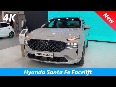 Hyundai Santa Fe 2022 - FIRST Look in 4K | Exterior - Interior (Style) Facelift