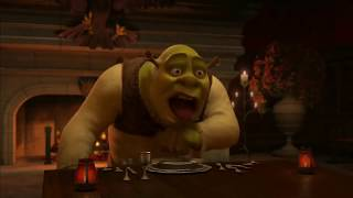 Shrek 2 Dinner Scene But It's On Some Serious Crack