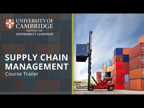University of Cambridge Supply Chain Management online short course | Course Trailer