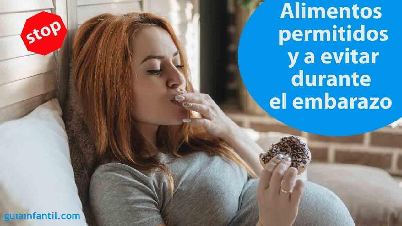 Alimentos permitidos y a evitar durante el embarazo | #ConectaConTuHijo
