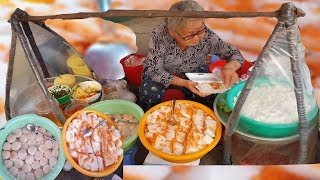 Gánh bánh bèo hơn nửa thế kỷ của bà ngoại 83 tuổi ở Sài Gòn
