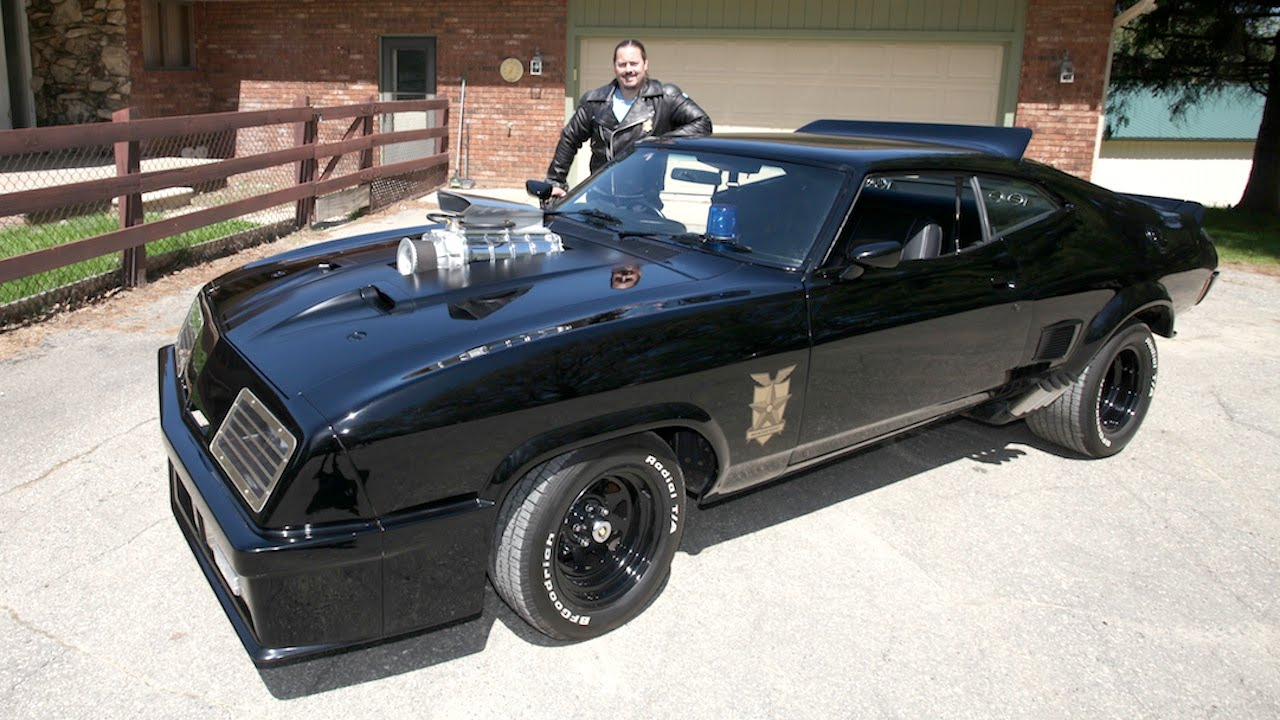 This Guy Spent $US120,000 Recreating Mad Max's Ford Falcon