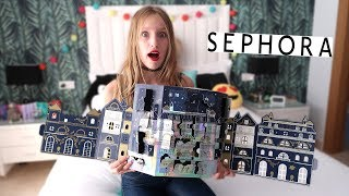 I Opened Entire Sephora Advent Calendar In One Day!!!