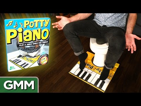 Testing the Potty Piano