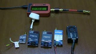 Тест FPV передатчиков 5.8G