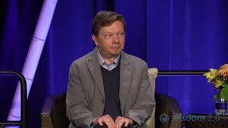 Eckhart Tolle's Spiritual Comedy