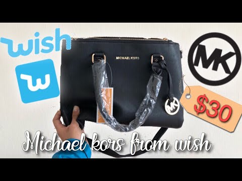 Buying a Michael Kors Purse on Wish ! Review!