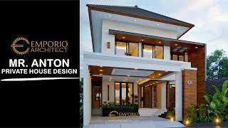 Video Mr. Anton M. Purba Modern House 2 Floors Design - Jakarta