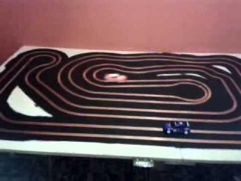 WIP slot car track