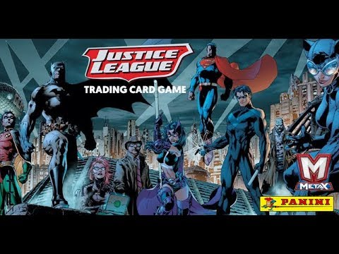 Justice League Trading Card Game Gen Con Demo