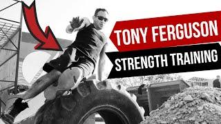 Tony Ferguson Strength Training Highlights   Training World