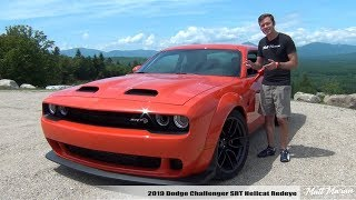 Review: 2019 Dodge Challenger Hellcat Redeye - 797 HP!