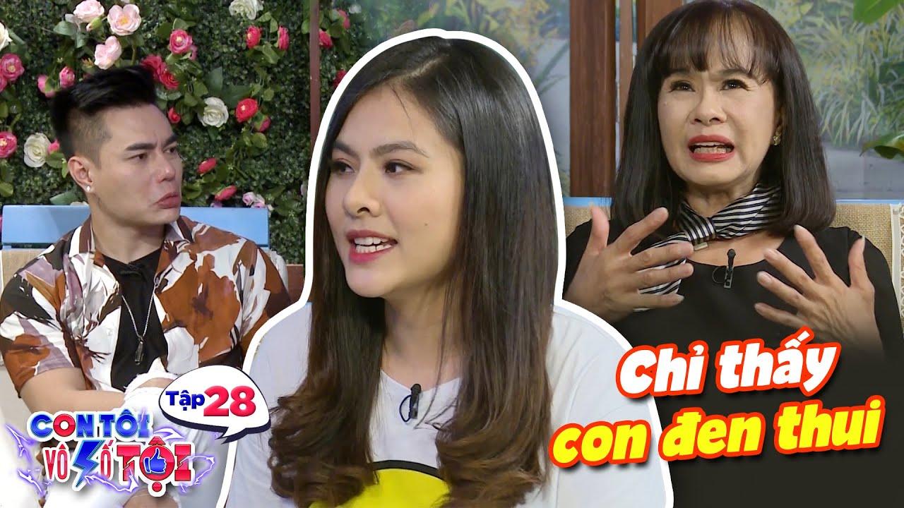 Con tôi vô số tội|Tập 28: Mẹ Vân Trang buồn bã khi vừa sinh con chồng bỏ trốn đi nhậu vì quá sợ