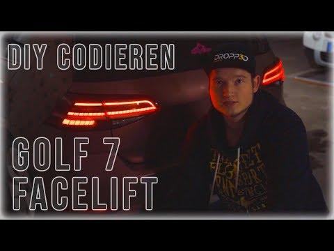 Golf 7 Facelift Rückleuchten Codieren mit VCP / VCDS