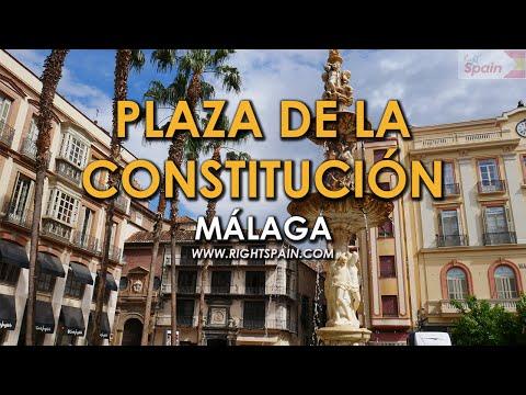 Plaza de la Constitución, Málaga Spain 2016.