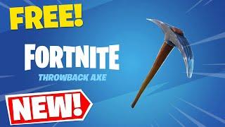 How To Get The FREE Default OG Pickaxe! (Fortnite Battle Royale)