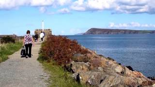 A family day out at Goodwick, Fishguard, Pembrokeshire, October 2016
