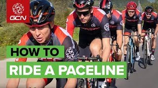 How To Ride In A Pace Line | Cycling Group Ride Tips