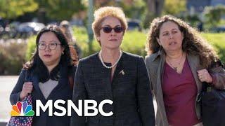 Ex-Ukraine Amb Gives Damning Testimony, Trump Pressured State Dept To Oust Her | Hardball | MSNBC