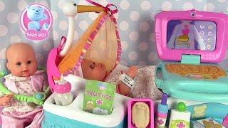 Nenuco Centre de Maternité Poupon Nouveau né avec Emma de Corolle
