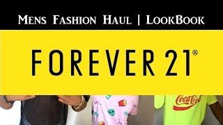 Mens Summer FOREVER 21 Fashion Haul   LookBook   FOREVER 21 SUMMER LOOKS FOR MEN   21 MEN FASHION