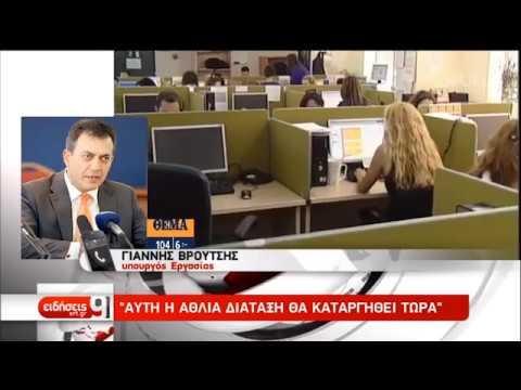 Eπενδύσεις και ανάπτυξη στην ατζέντα της κυβέρνησης   19/08/2019   ΕΡΤ