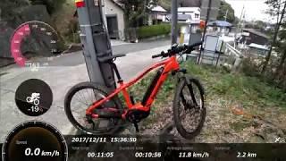 暗峠を自転車で10分7秒!?電動アシストバイクXM-1を使い全力で登って来た