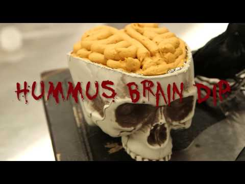 How to Make Hummus Brain Dip