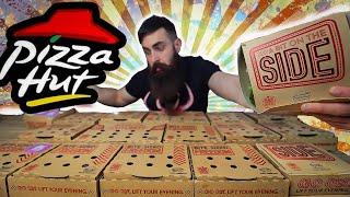 THE FULL PIZZA HUT SWEETS & SIDES MENU CHALLENGE | BeardMeatsFood
