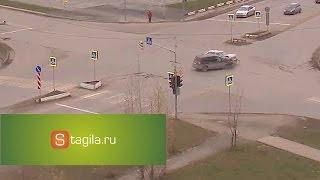 ДТП в Нижнем Тагиле на перекрестке Серова × Пархоменко