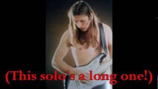 Best Of David Gilmour Live (guitar Solo's)   Part 1